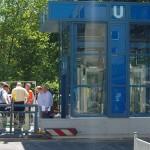 Eröffnung Fahrstuhl U-Bahnhof Turmstraße