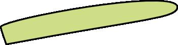 Spargelstange Spitze rechts