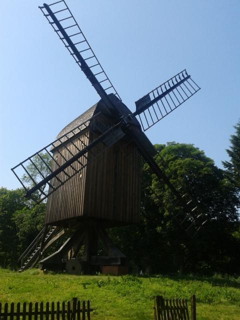 Mühle von vorn
