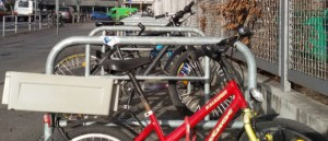 Fahrradständer wochentags