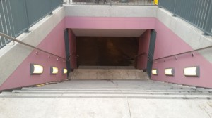 U-Bahn Turmstraße neuer Eingang