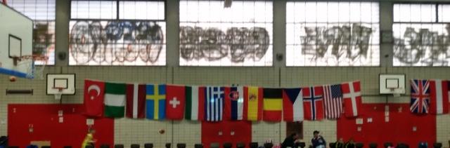 Ostercup Flaggen