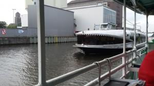 Westhafen mit Wal