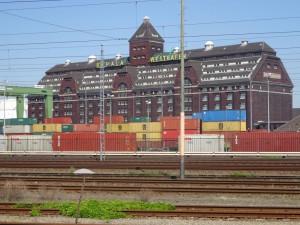 Westhafen Tetris